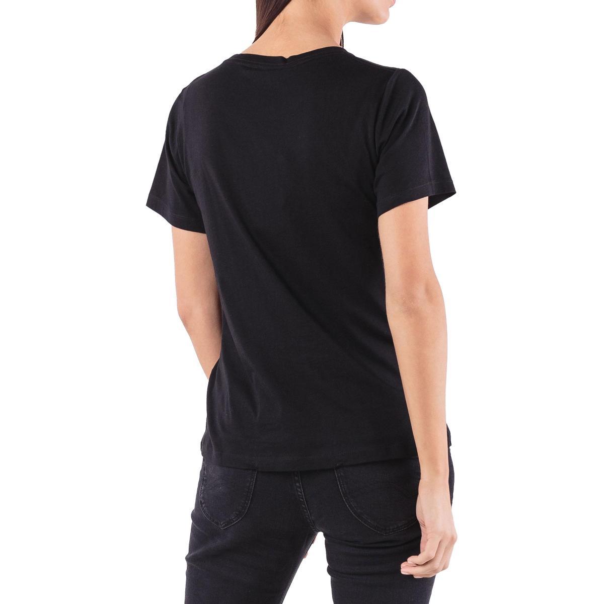 """T-shirt girocollo con stampa logo Pepe Jeans """"Bettie"""" da donna rif. PL503841"""