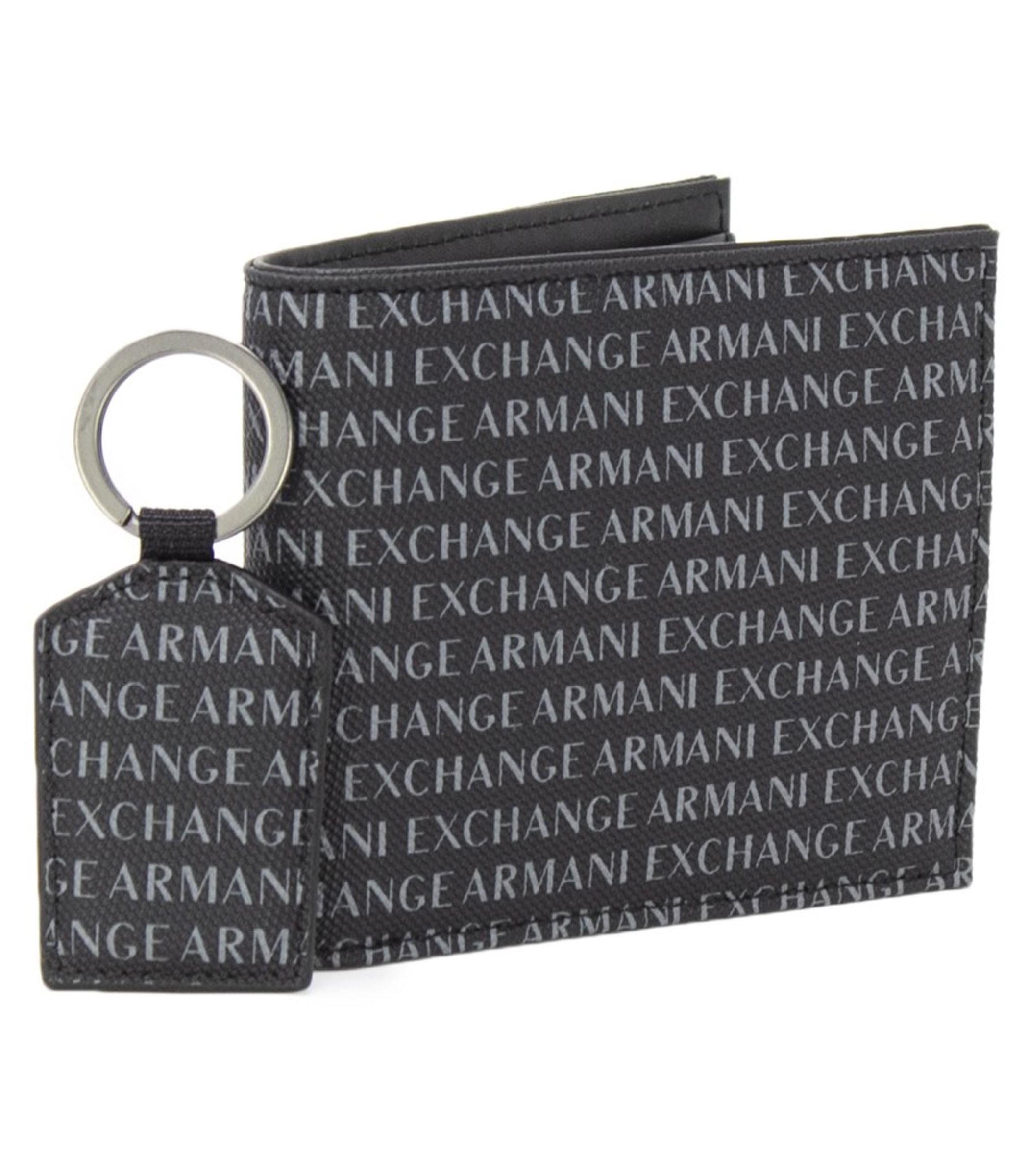 nuovo arrivo a282e b8f61 Portafoglio e portachiavi Armani Exchange da uomo rif ...