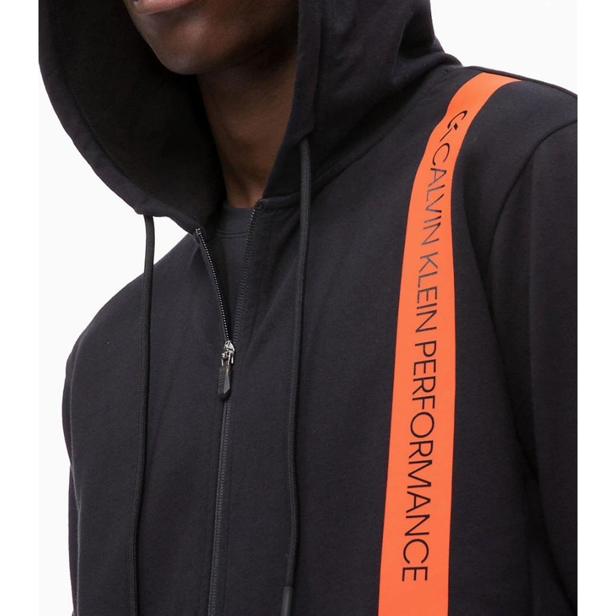 Felpa Calvin Klein Performance con cappuccio e zip da uomo rif. 00GMH8J421