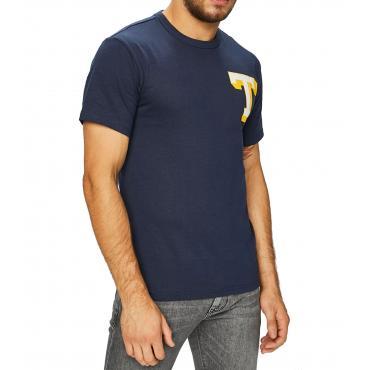 T-shirt Tommy Jeans con monogramma da uomo rif. DM0DM05109