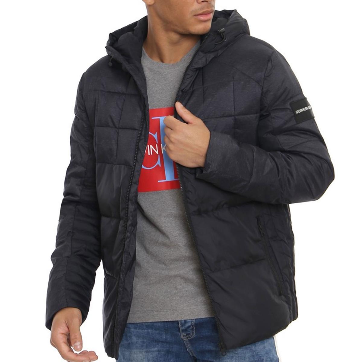 Giubbotto Calvin Klein Jeans Mix Media Puffer Jacket da uomo rif. J30J309490