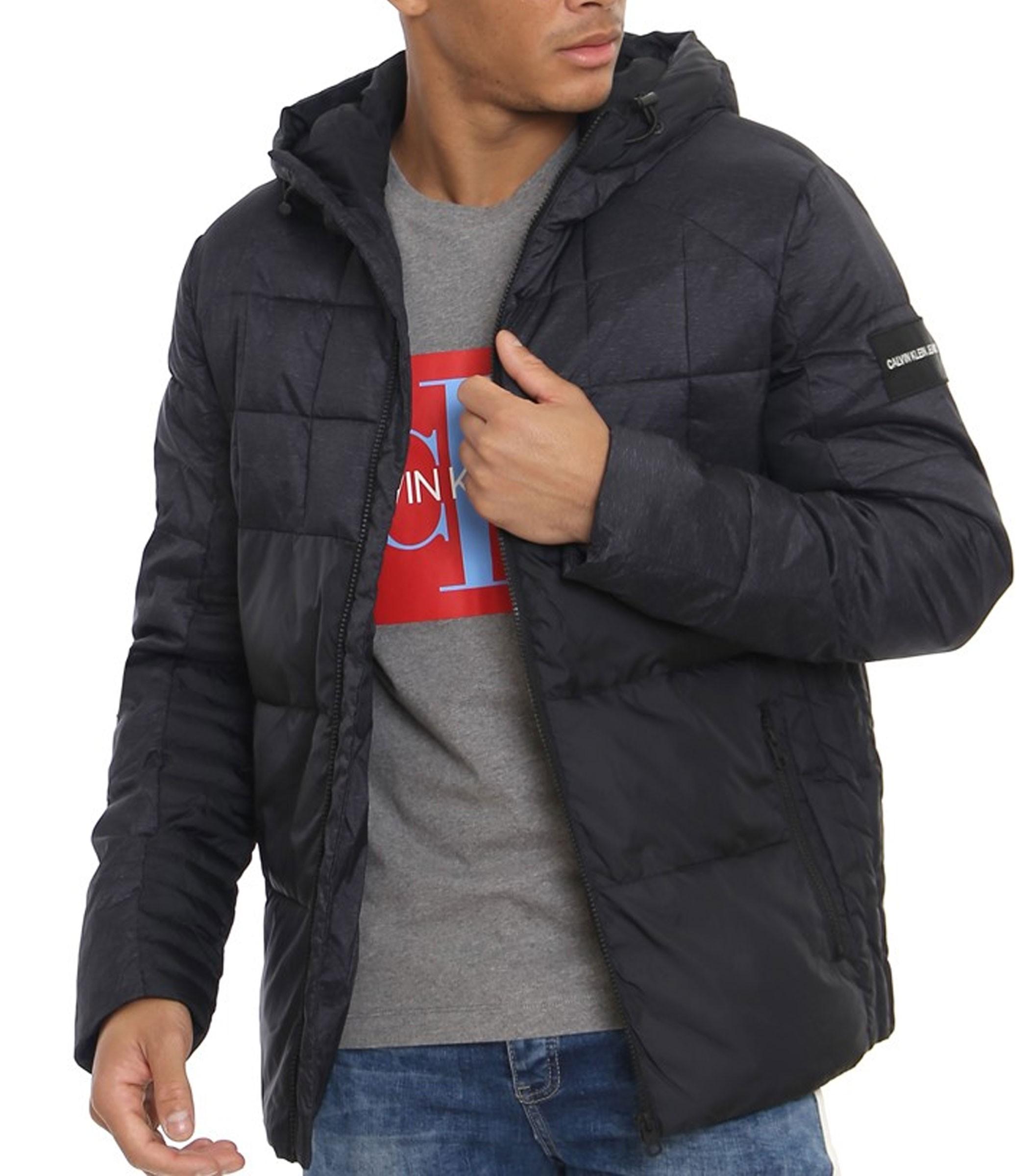 Double tap to zoom · Giubbotto Calvin Klein Jeans Mix Media Puffer Jacket da  uomo rif. 156e63c7cfc