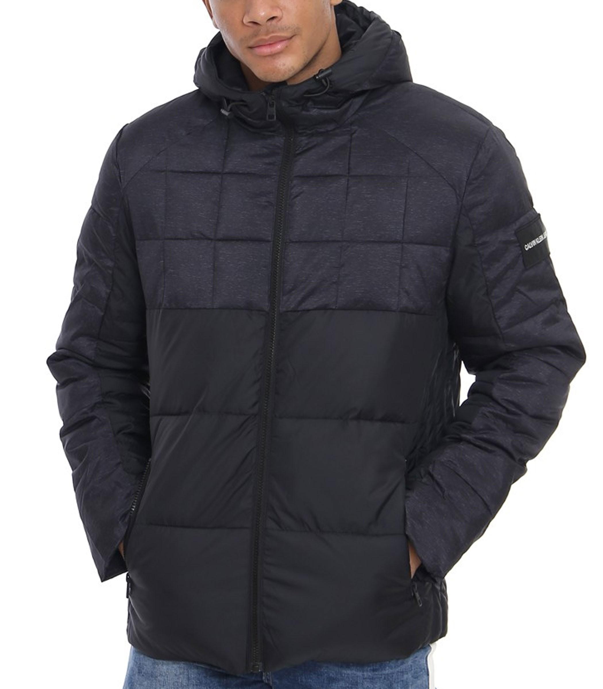 J30J309490 Giubbotto Calvin Klein Jeans Mix Media Puffer Jacket da uomo rif. d0ffcbe9241