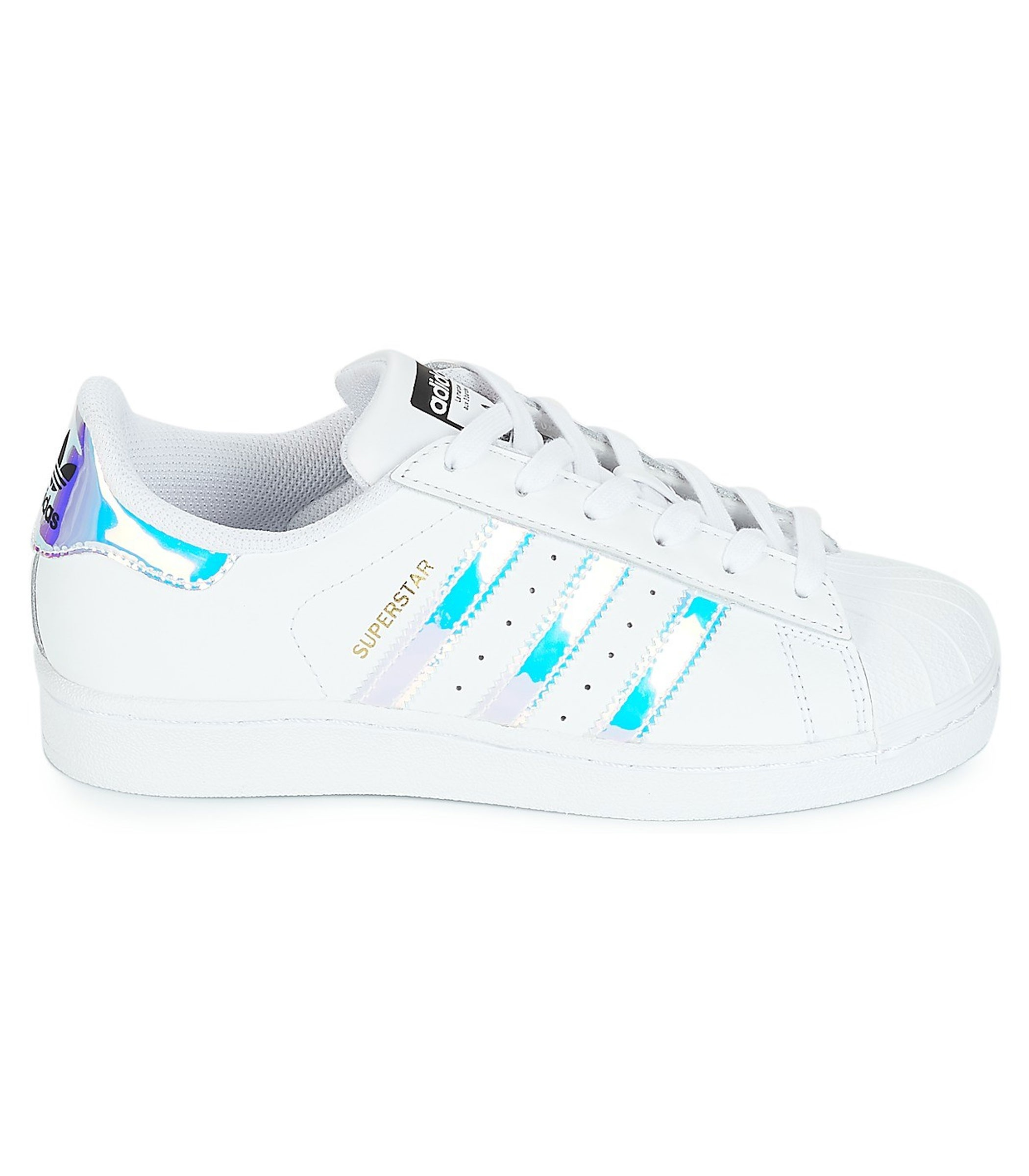 online retailer d726a 545b6 Scarpe Sneakers Adidas Superstar J da ragazza rif. AQ6278