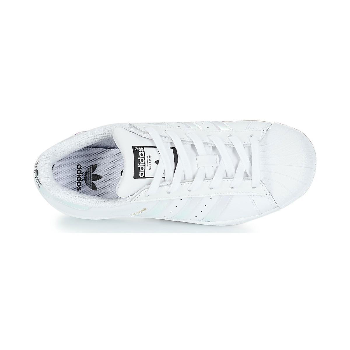 Scarpe Sneakers Adidas Superstar J da ragazza rif. AQ6278