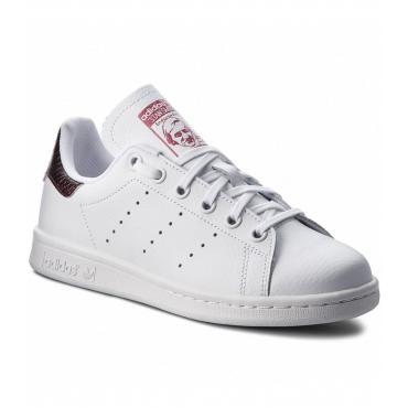 Scarpe Sneakers Adidas Stan Smith J da ragazza rif. B37186