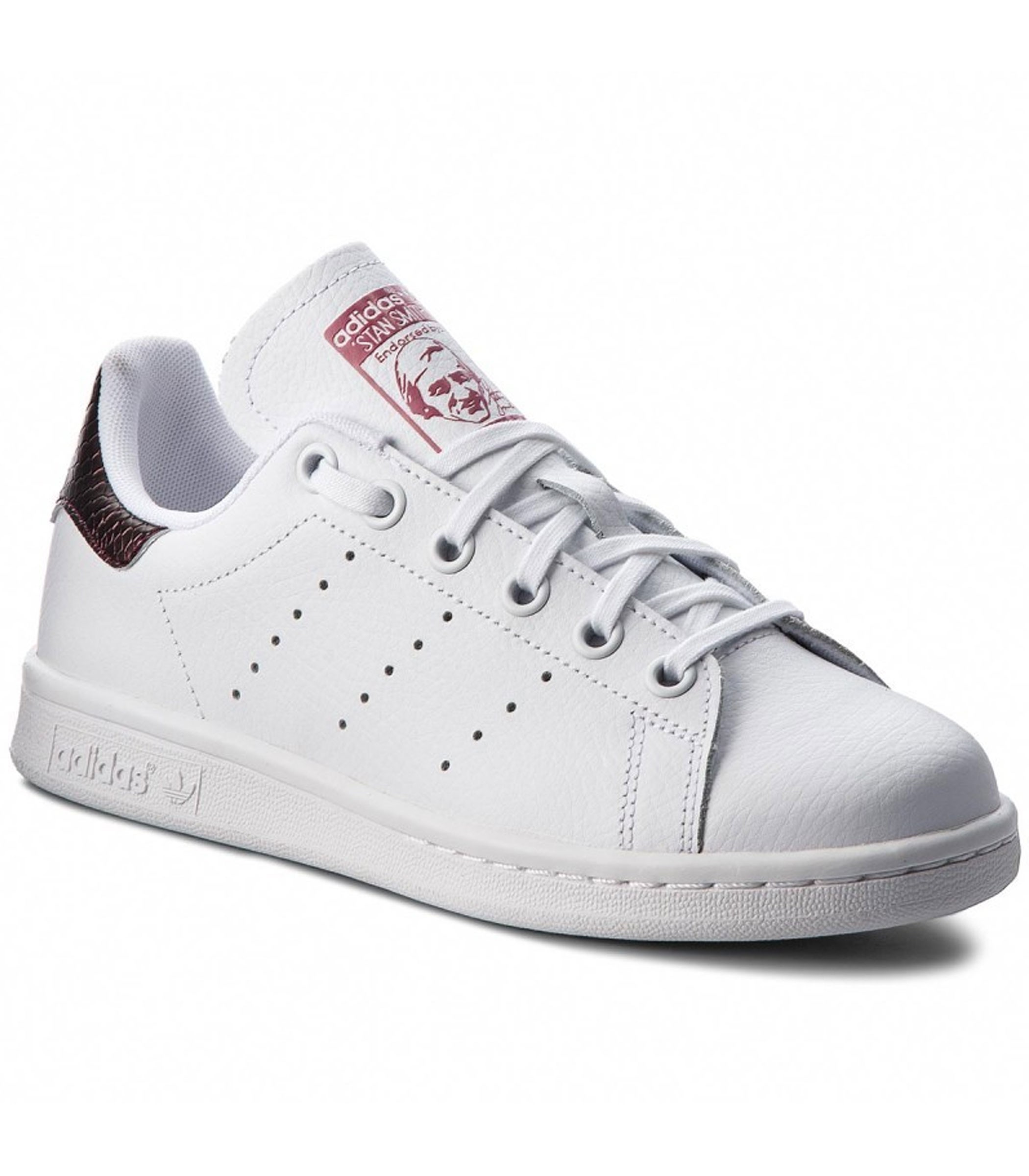 quality design 4cb19 70e54 Scarpe Sneakers Adidas Stan Smith J da ragazza rif. B37186