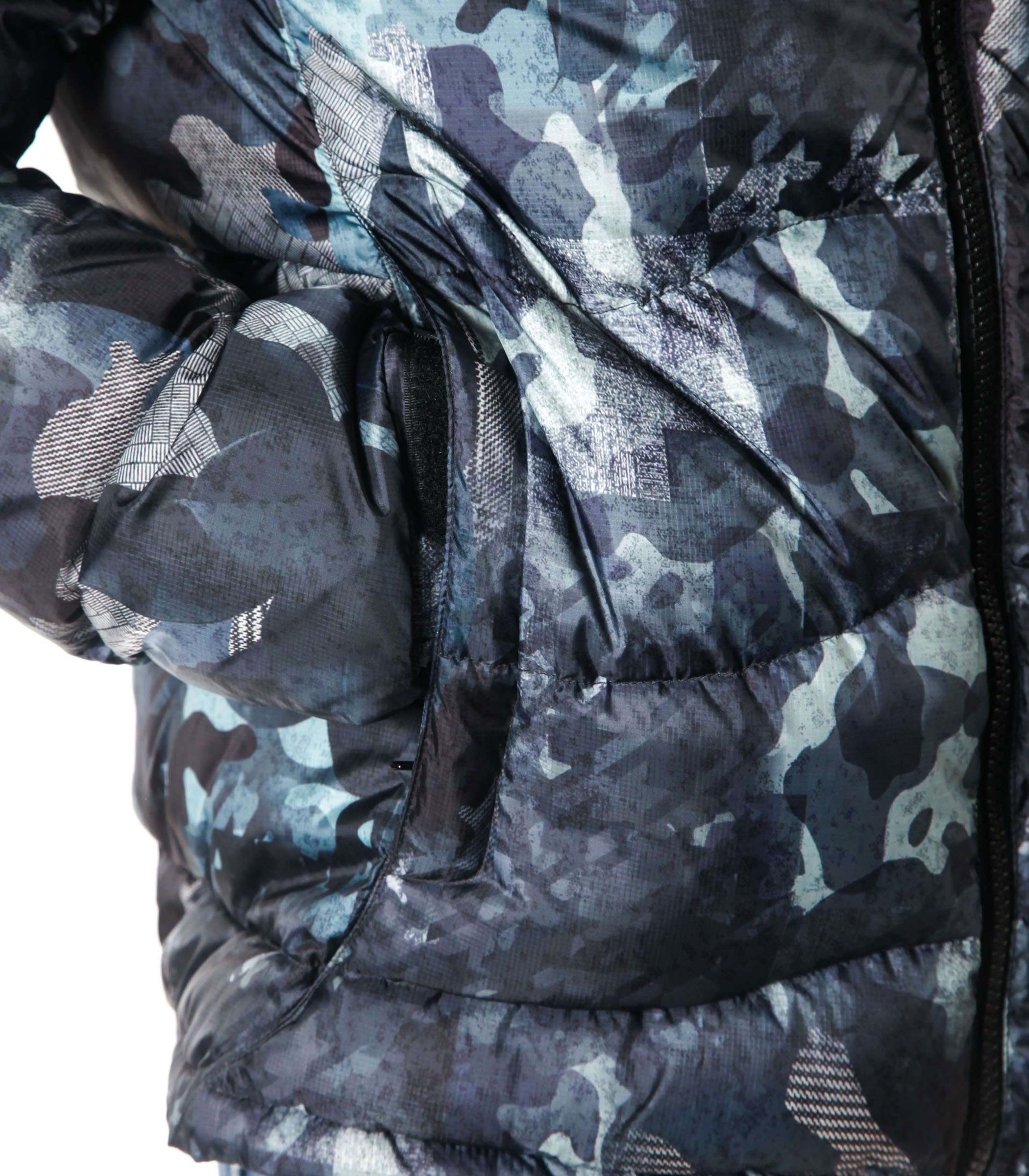 huge selection of e7319 1517b Giubbotto Piumino Blauer USA camouflage uomo rif ...