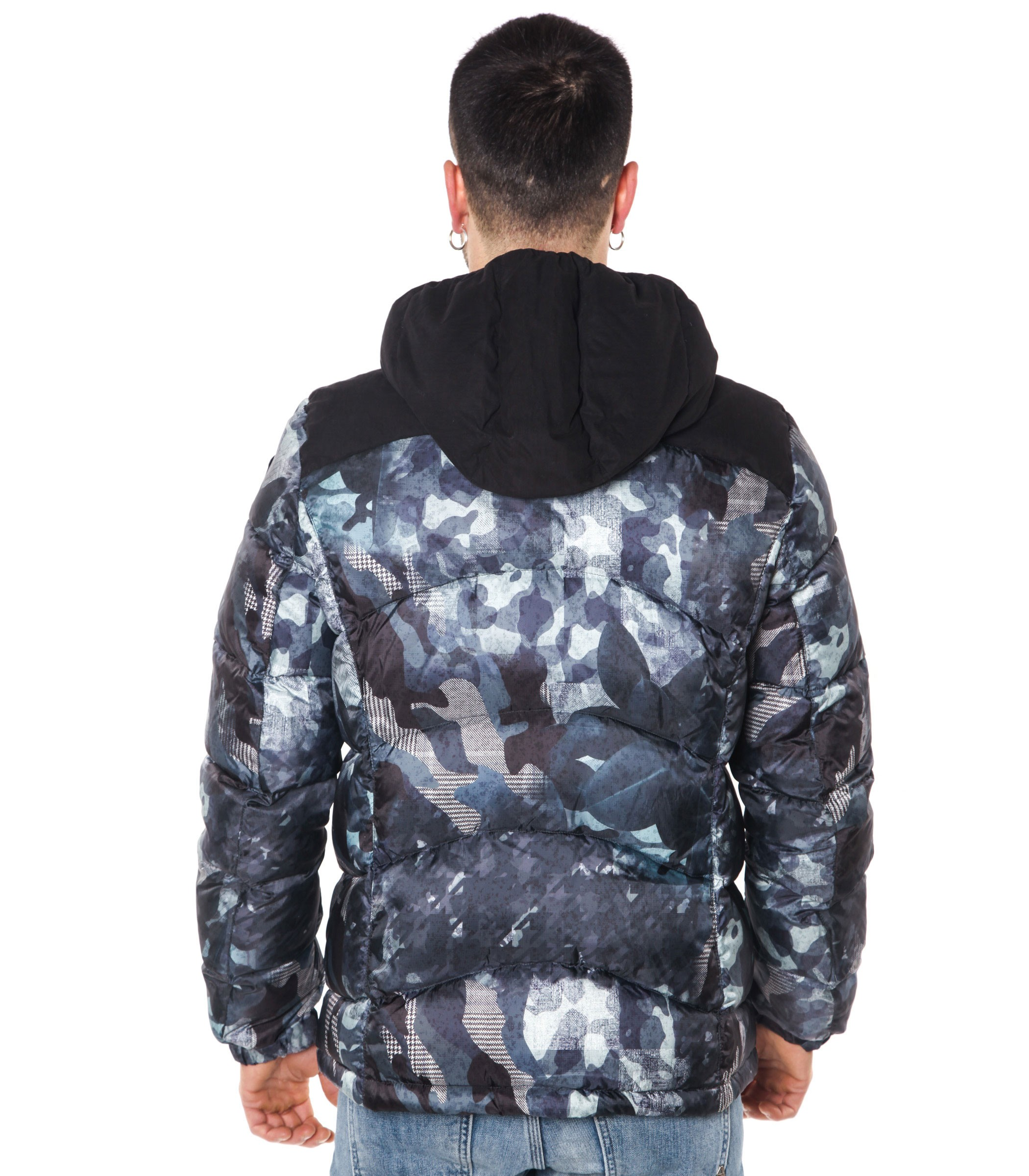 huge selection of d64e8 7517b Giubbotto Piumino Blauer USA camouflage uomo rif ...