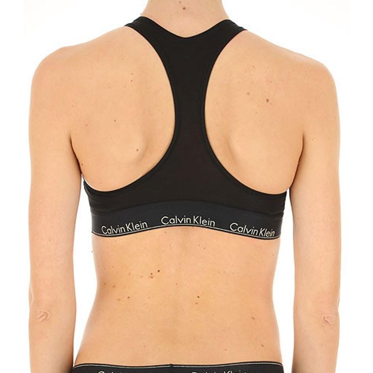 Bralette Calvin Klein Underwear con logo da donna rif. QF5042E-7LN