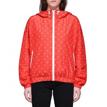 Giacca a vento Calvin Klein Jeans Monogram logo all over da donna rif. J20J209610