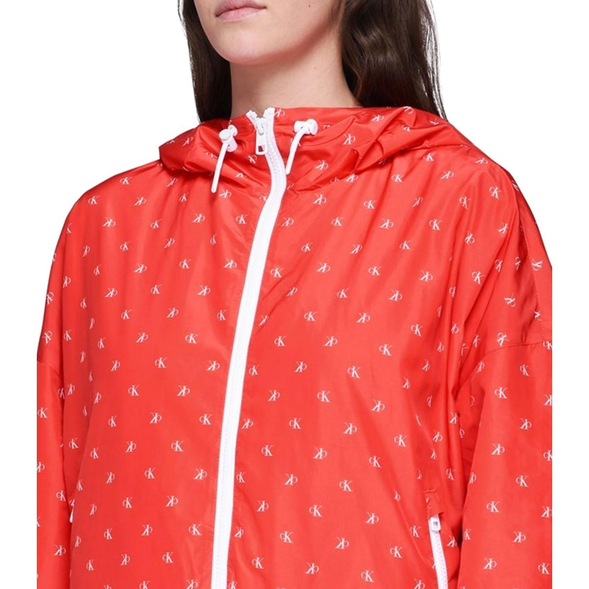 K-way Calvin Klein Jeans Monogram logo all over da donna rif. J20J209610