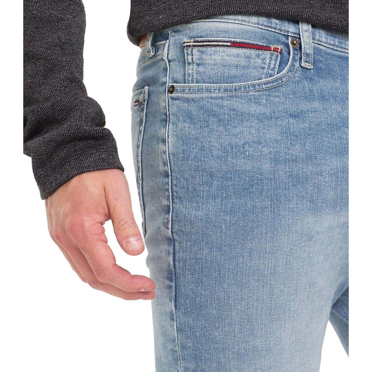Jeans Tommy Jeans stretch skinny fit da uomo rif. DM0DM05786