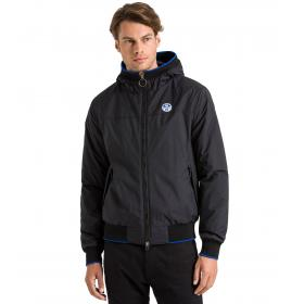 Giubbotto Bomber North Sails con cappuccio da Uomo Sailor Hooded Jacket Rif. 602452
