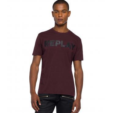T-shirt Replay girocollo con stampa da uomo rif. M3594.000 2660