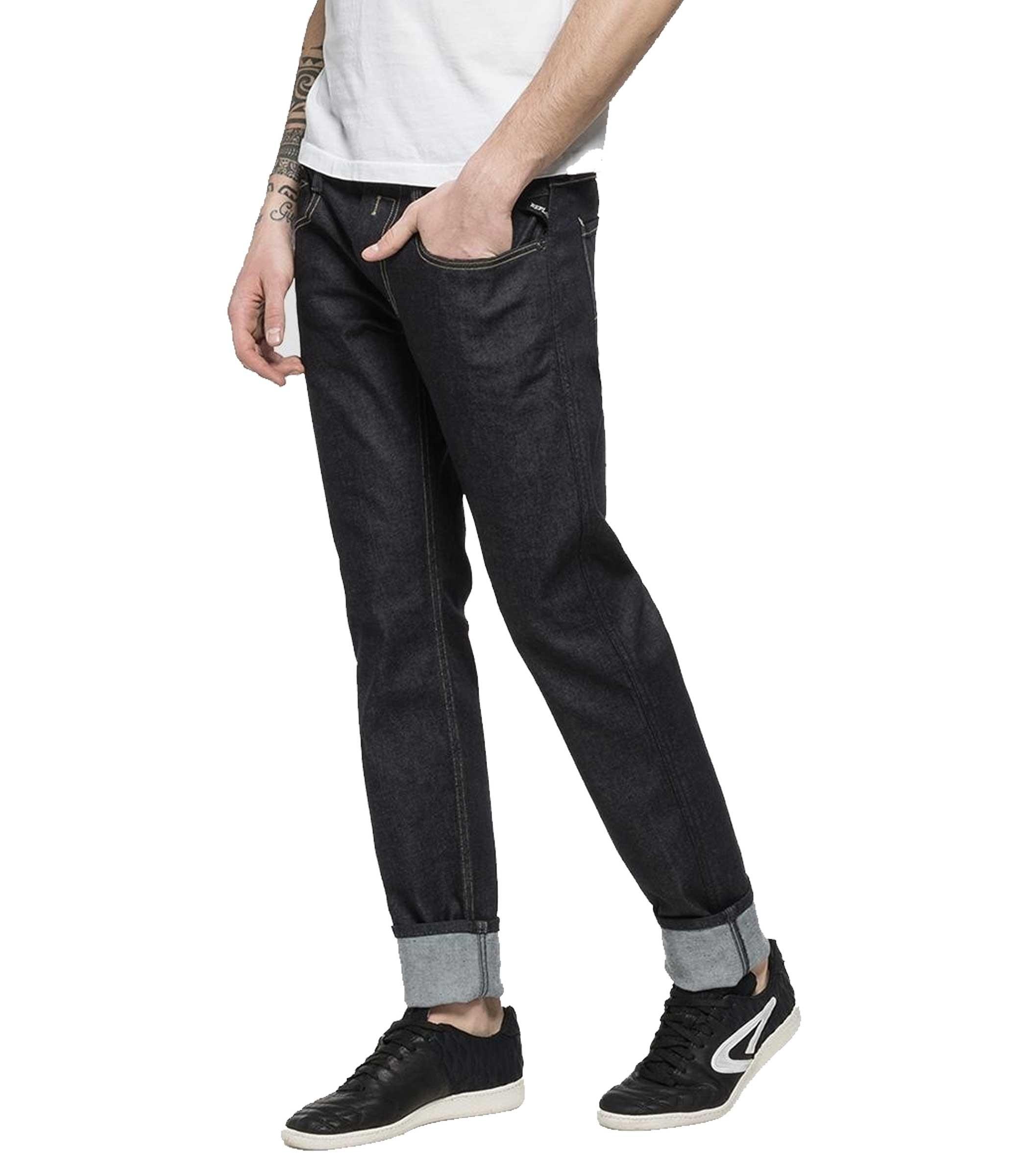 sports shoes b0db8 d8d56 Jeans Replay ForeverDark Anbass slim fit da uomo rif. M914 ...