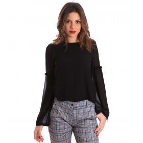 Camicia Blusa Gaudì in georgette da donna rif. 821BD45021