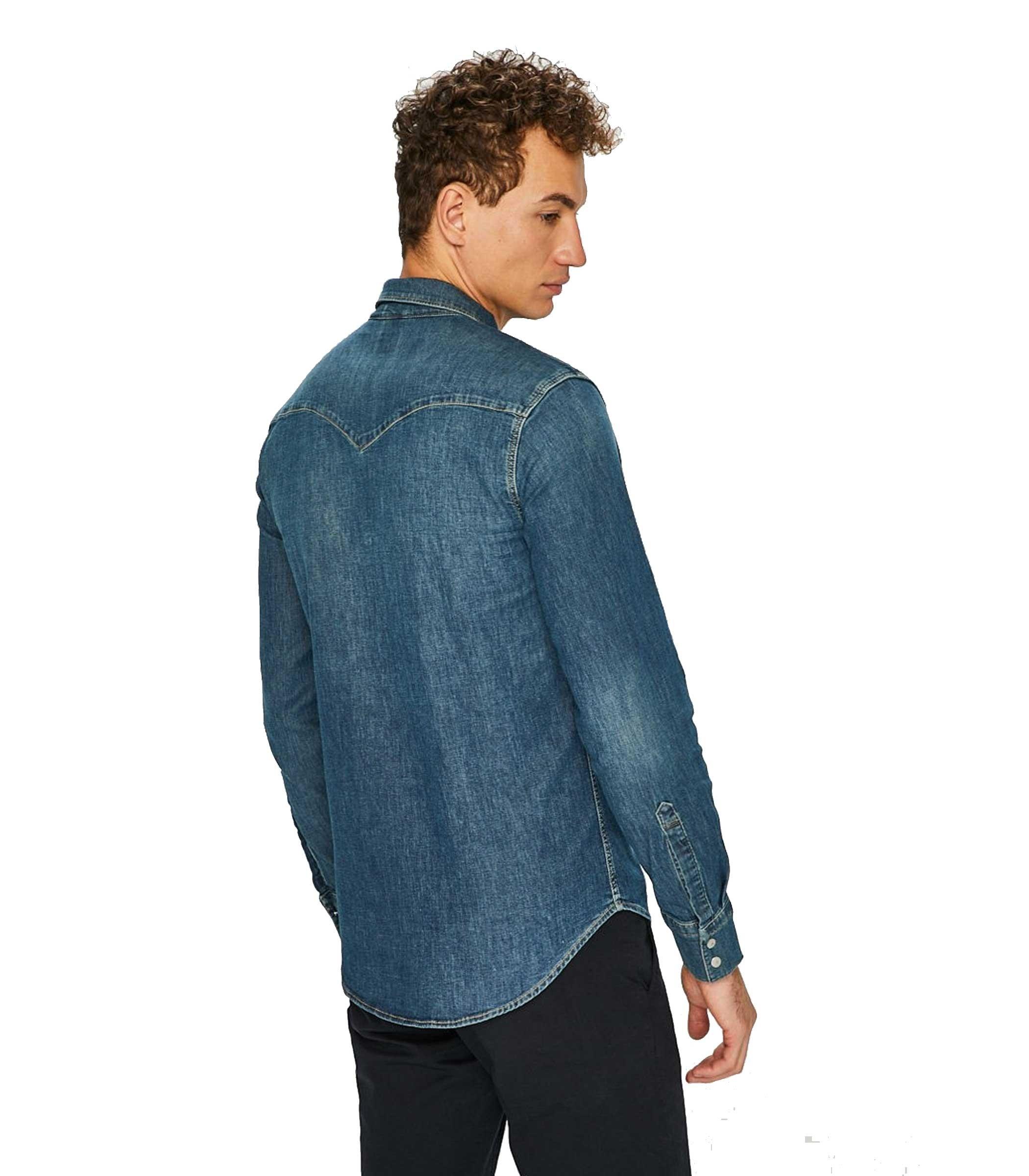 Jeans Da 0300 Uomo Denim Camicia Levi's Rif65816 CrdoxBe