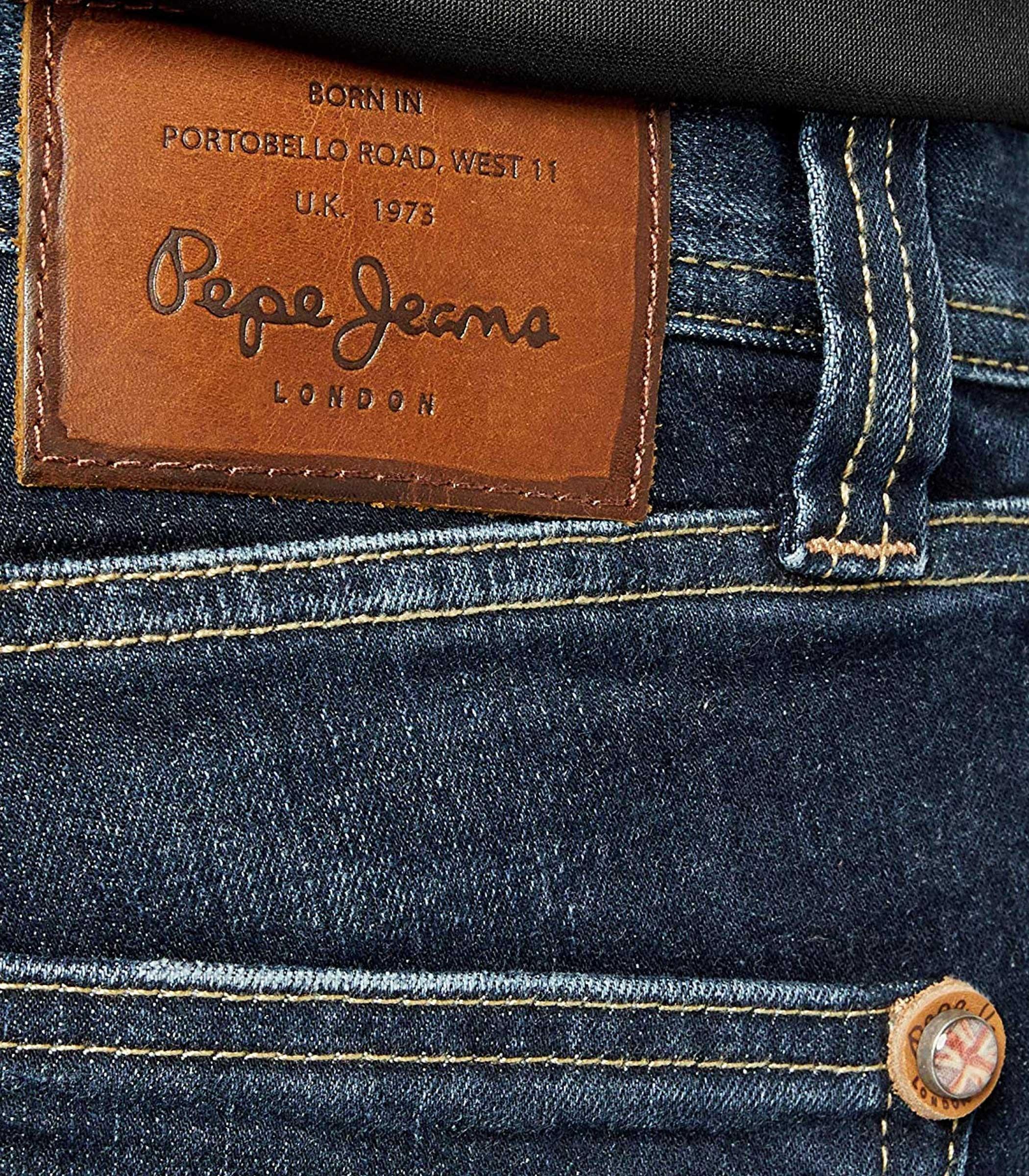 Jenas In Pepe Uomo Pantaloni Cane Denim 5 Da Tasche RifPm200072z454 8wN0vmnO