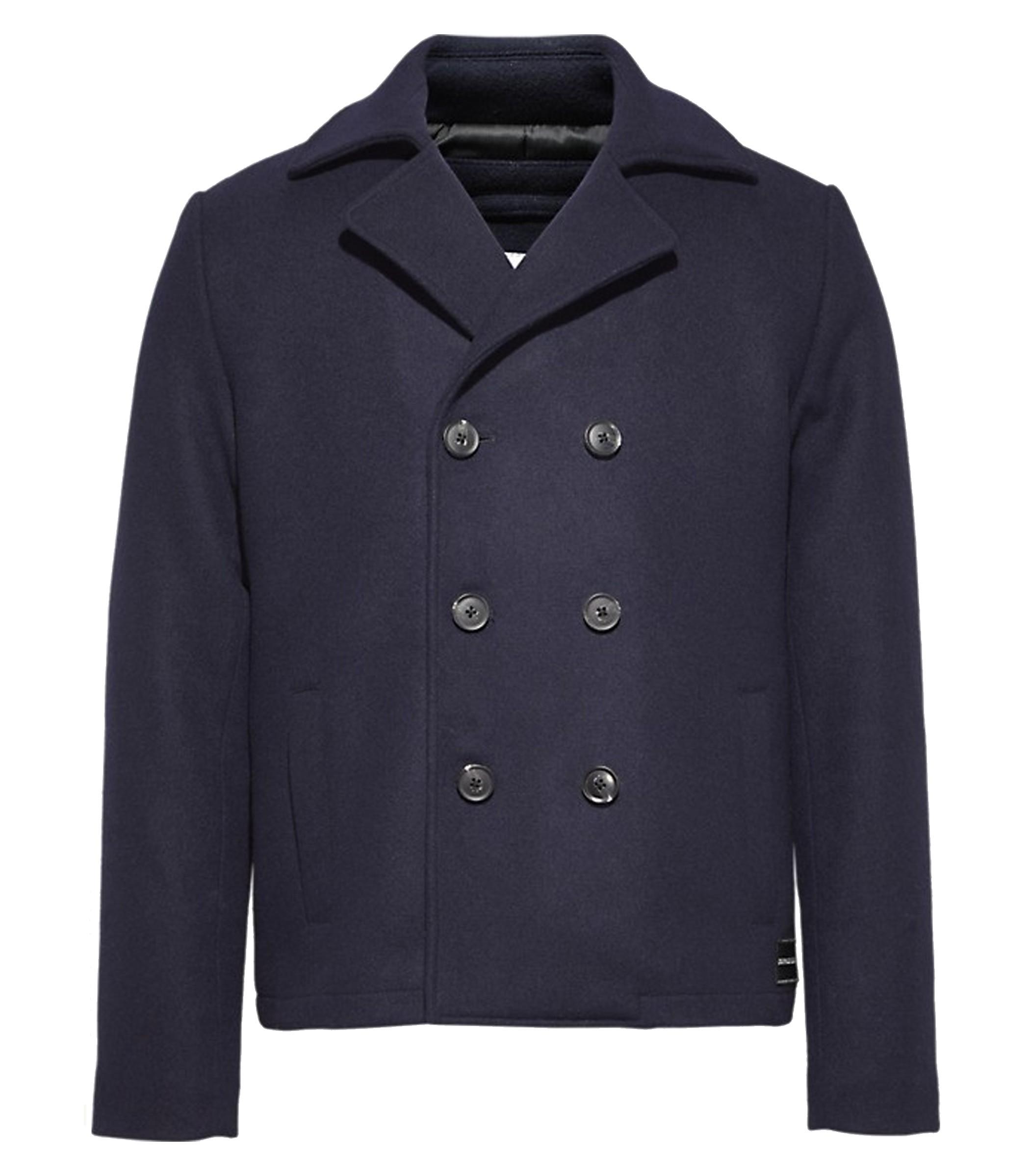 buy popular 52cef 32abf Cappotto doppiopetto Calvin Klein Jeans da uomo rif. J30J309814