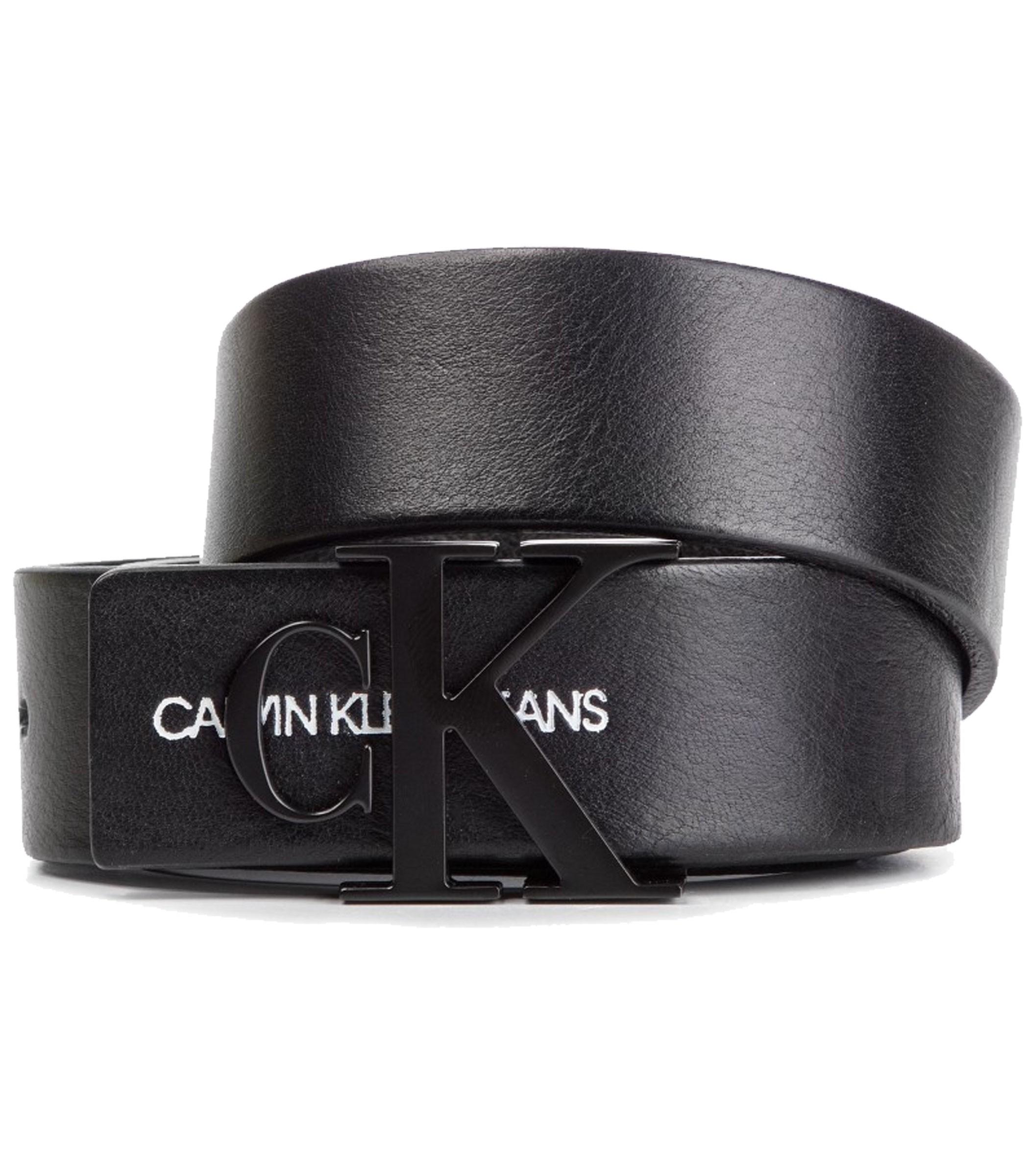 6bd1016569f526 Cintura Calvin Klein Jeans Monogram Belt pelle donna rif. K60K605296