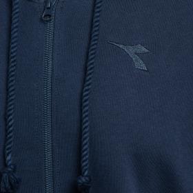 Felpa Diadora HD FZ JACKET CORE con zip e cappuccio da uomo rif. 102.174269