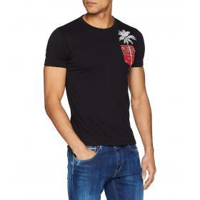T-shirt Replay con motivo palma da uomo rif. M3727.000.2660