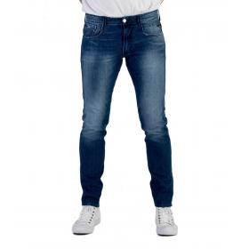 Jeans Replay Anbass denim blu da uomo rif. M914Y .000.661 332