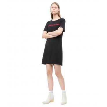 Vestitino Abito Calvin Klein Jeans con logo ricamato da donna rif. J20J210389