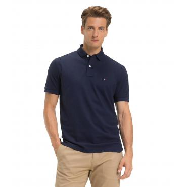 Polo Tommy Jeans in cotone stretch da uomo rif. DM0DM06112