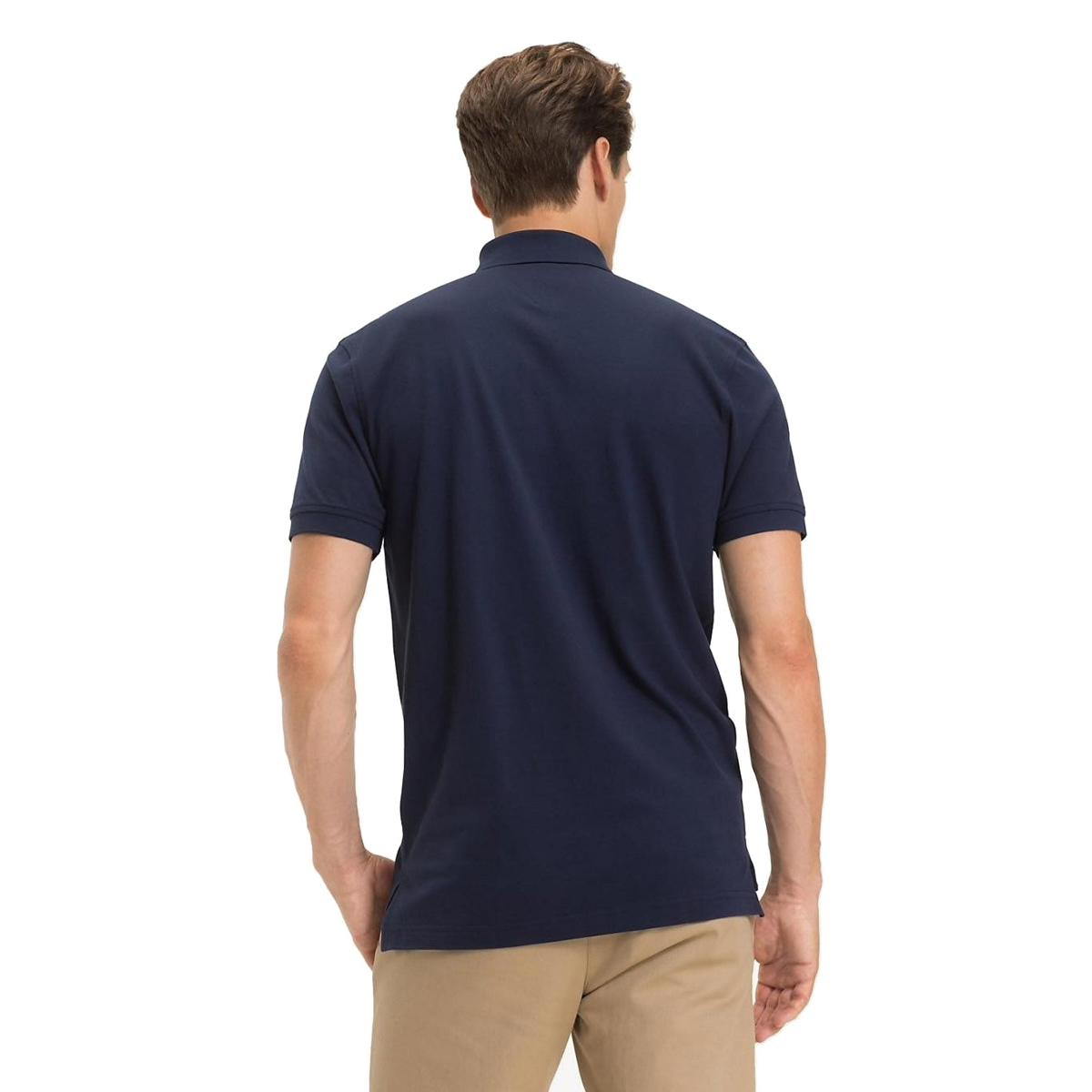 Polo Tommy Jeans in cotone stretch da uomo rif. DM0DM06112