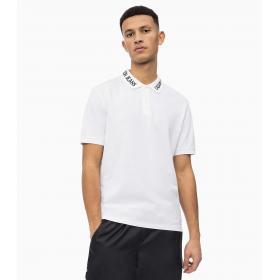Polo Calvin Klein Jeans con logo in piqué da uomo rif. J30J311183