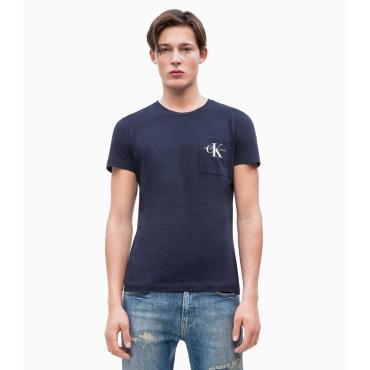 T-shirt Calvin Klein Jeans in cotone biologico da uomo rif. J30J311023