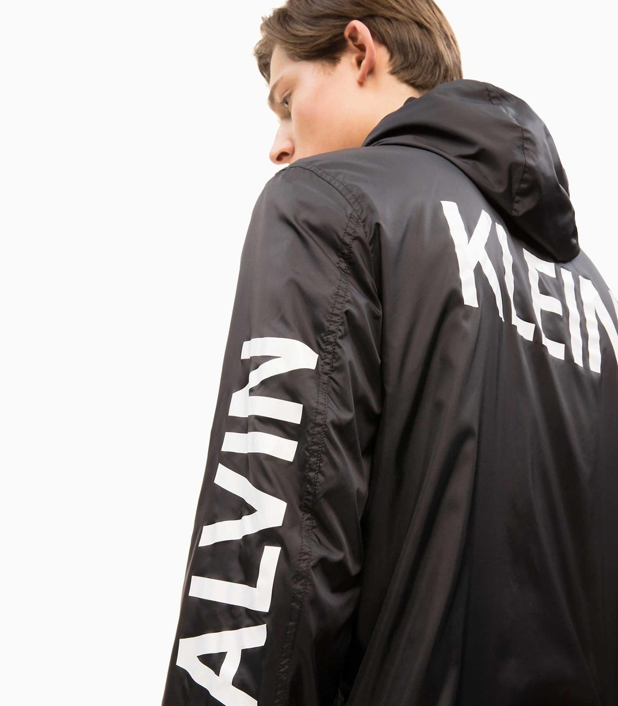 detailed look 1caa6 7dfa3 Giacca giubbotto Calvin Klein Jeans in nylon logo uomo rif ...
