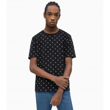 T-shirt Calvin Klein Jeans con logo all-over da uomo rif. J30J311310