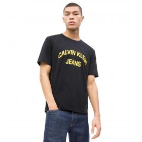 T-shirt Calvin Klein Jeans con logo college da uomo rif. J30J311471