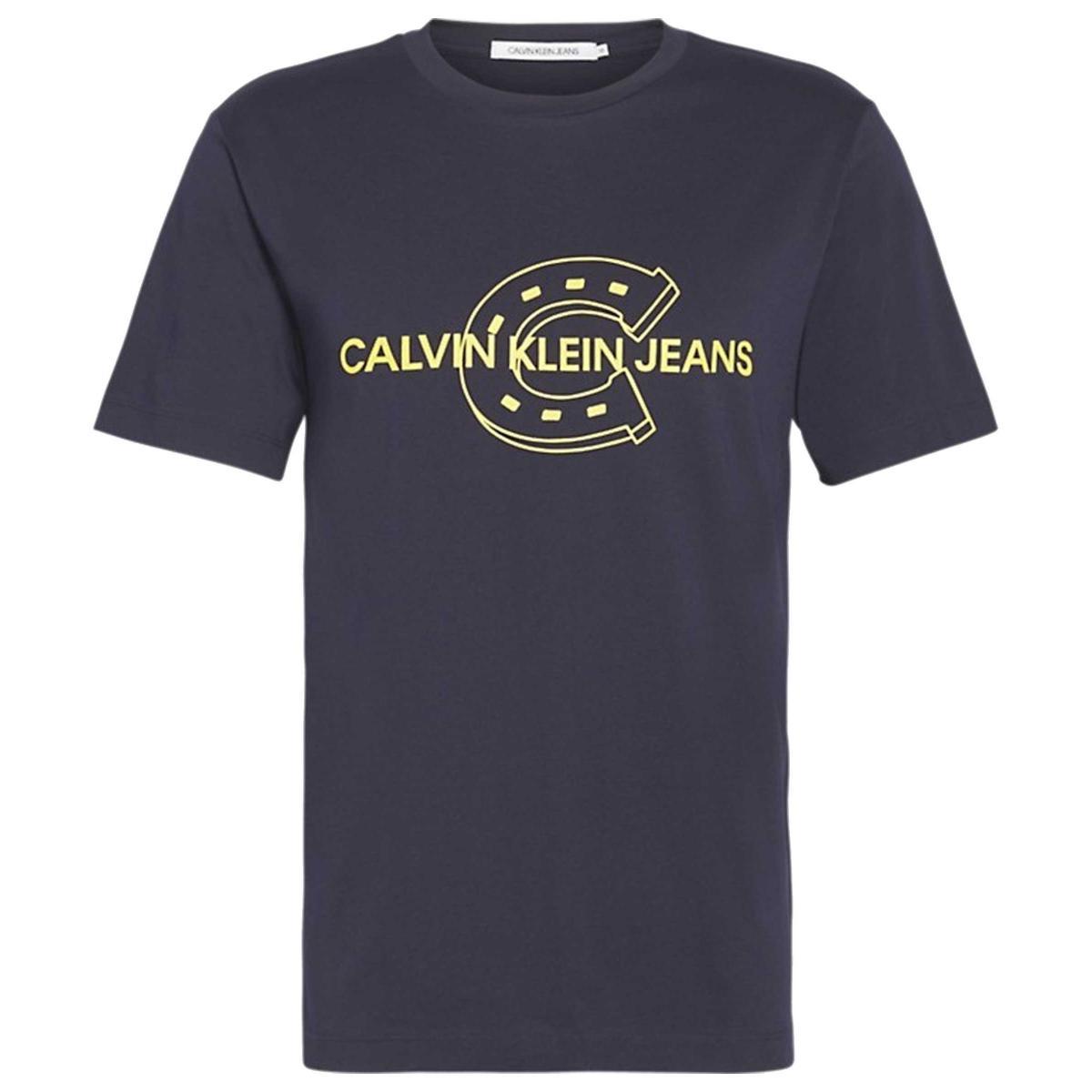 T-shirt Calvin Klein Jeans con stampa da uomo rif. J30J311300