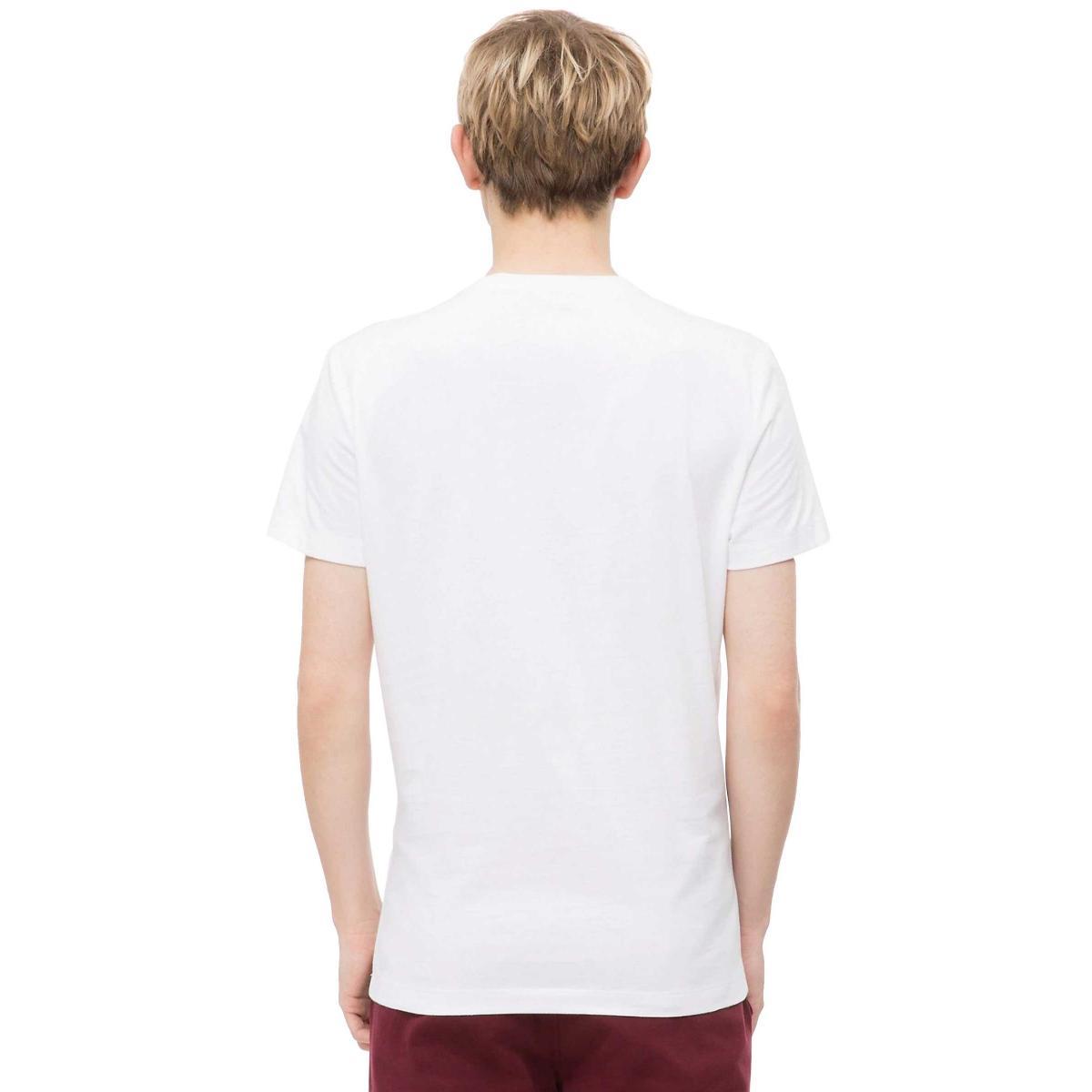 T-shirt Calvin Klein Jeans con logo slim da uomo rif. J30J311329