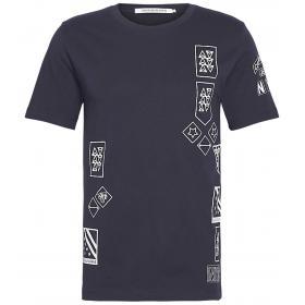 T-shirt Calvin Klein Jeans con stampe da uomo rif. J30J312120