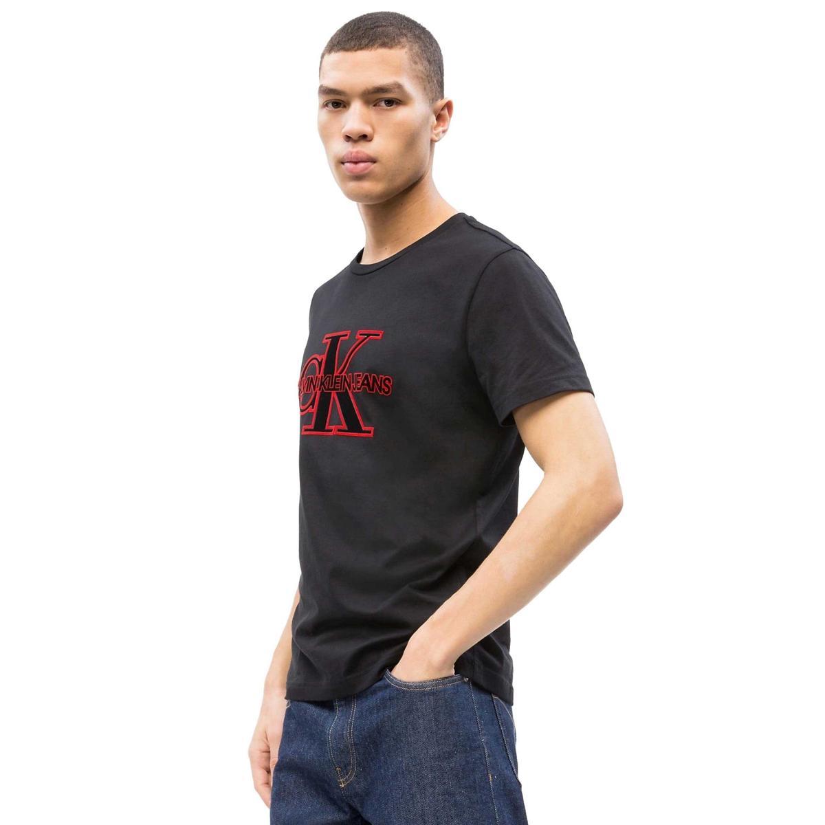 T-shirt Calvin Klein Jeans con logo slim da uomo rif. J30J311649