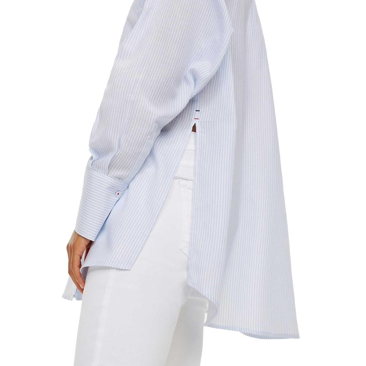 Camicia Tommy Jeans in cotone a righe da donna rif. DW0DW06104