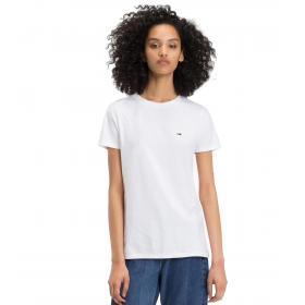 T-shirt Tommy Jeans BOYFRIEND FIT CLASSICA da donna rif. DW0DW04681