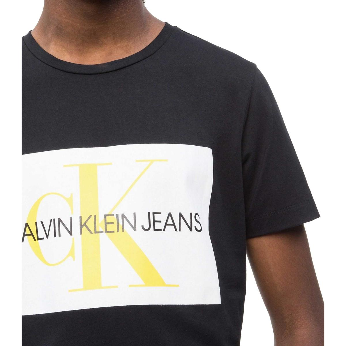T-shirt Calvin Klein Jeans con logo slim da uomo rif. J30J307843