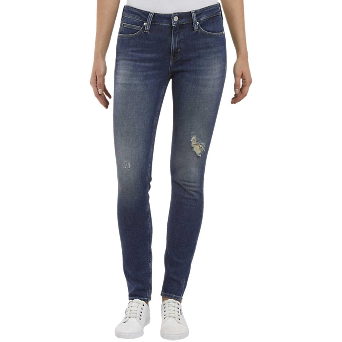 Jeans Calvin Klein Jeans CKJ 011 MID RISE SKI da donna rif. J20J209427