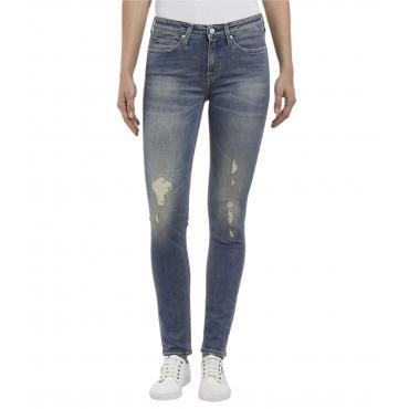 Jeans Calvin Klein Jeans MID RISE SKI slim da donna rif. J20J209447
