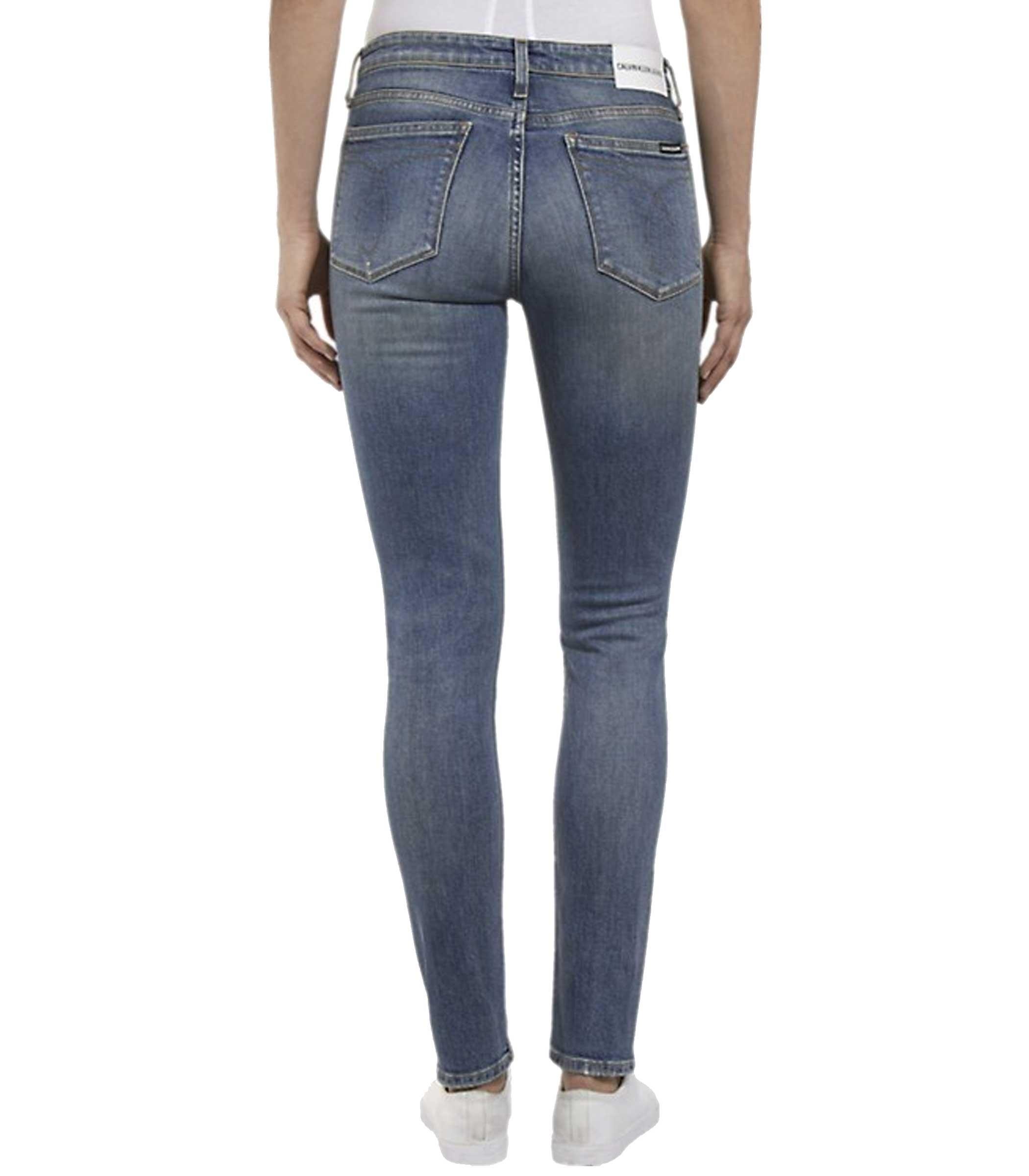 huge discount a1ee1 b936d Jeans Calvin Klein Jeans MID RISE SKI slim da donna rif ...
