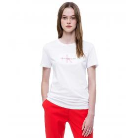 T-shirt Calvin Klein Jeans con logo slim da donna rif. J20J209738