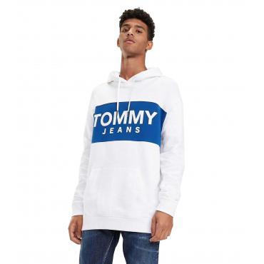 Felpa Tommy Jeans con cappuccio da uomo rif. DM0DM06106