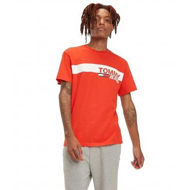 T-shirt Tommy Jeans in cotone biologico da uomo rif. DM0DM06089