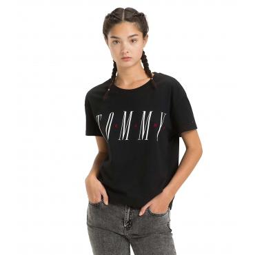 T-shirt Tommy Jeans con stampa da donna rif. DW0DW05715